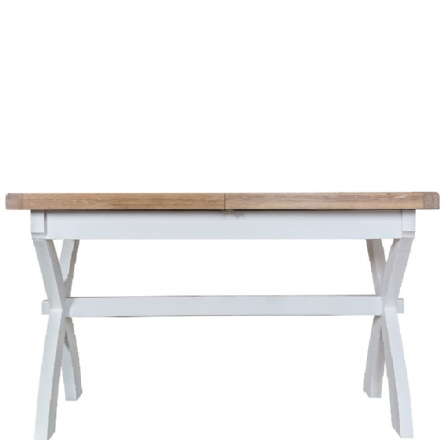 Toulouse White 2.5m Cross Extending Table